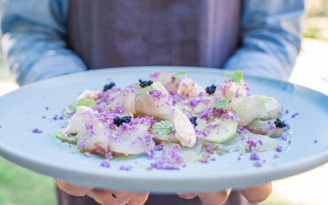 Barramundi sashimi