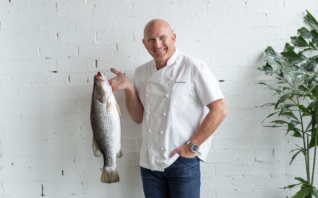 Celebrity chefs who love Aussie barra